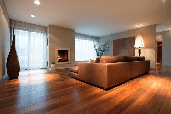 Modern vardagsrum