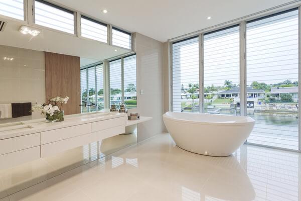 Fräsch modern badrum