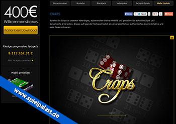 Craps im Casino Las Vegas