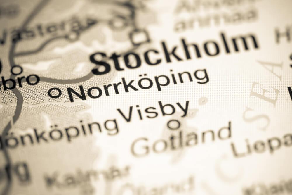 norrköping på karta