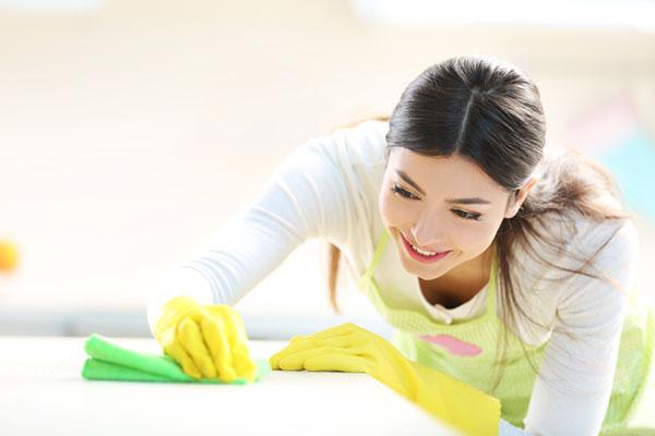 Nogrann städning i hemmet