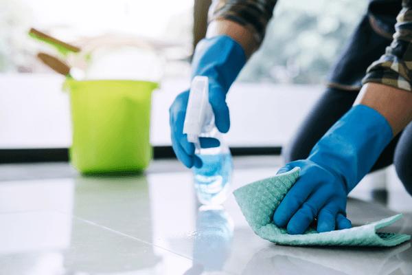 Tvätta golvet