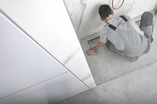 inspektion av golvbrunn Stamspolning Stockholm