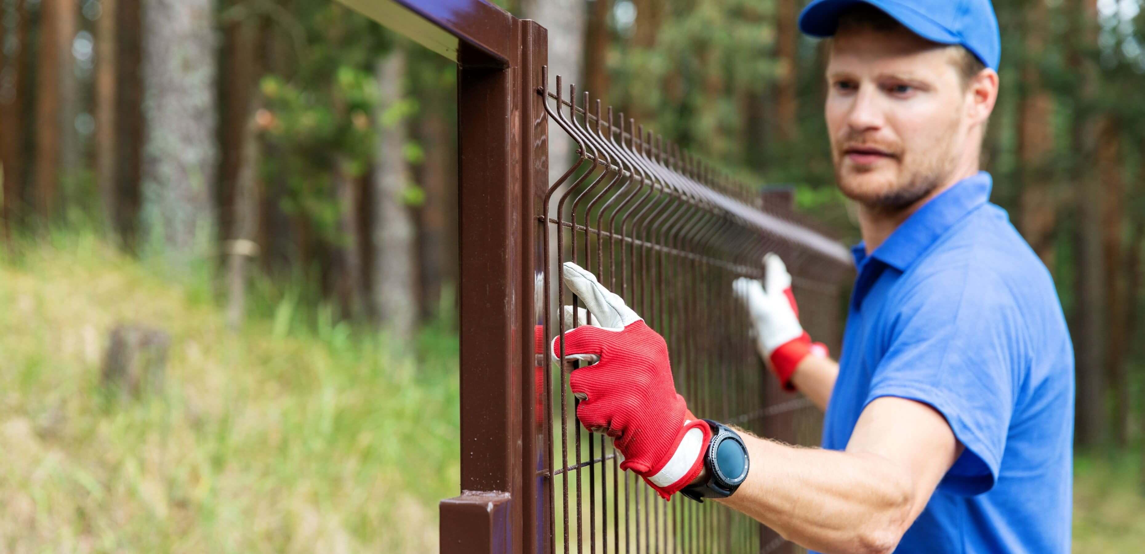 Vi utför service på stängsel i Dalarna