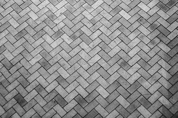 plattläggning i mönster