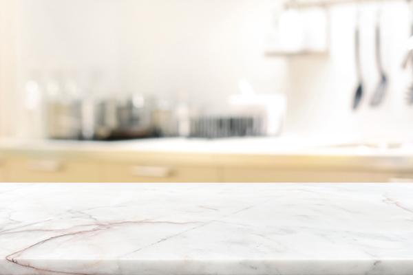 marmorskiva i köket