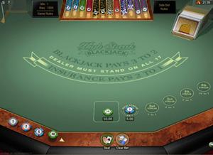 High Streak Blackjack im Platinum Play