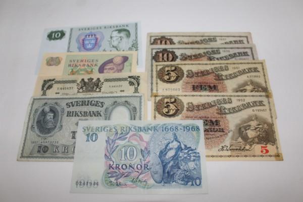 Mynt från dödsbo