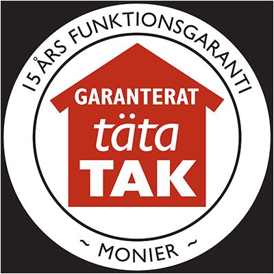15 års funktionsgaranti från oss takläggare i Borås