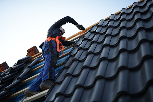 läggning av nytt tak