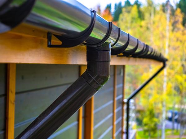 Stuprör till nytt tak