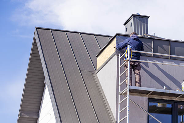 plåtarbeten på tak