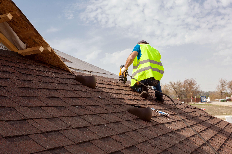 Vi renoverar även tak