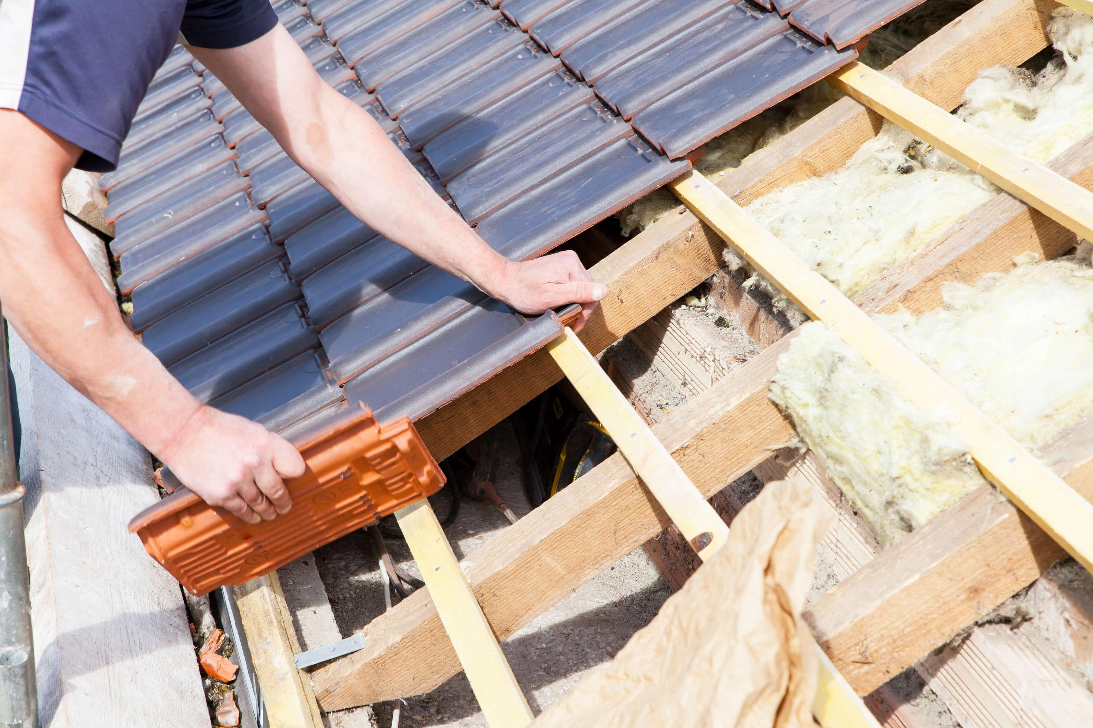 Vi lägger tak i Västra Götaland