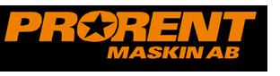Pro rent maskin AB logo