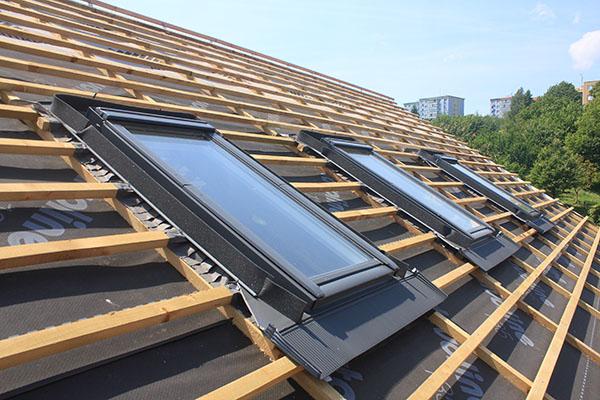 installation av takfönster