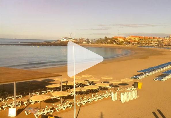 Väderkamera live Playa de las Vistas