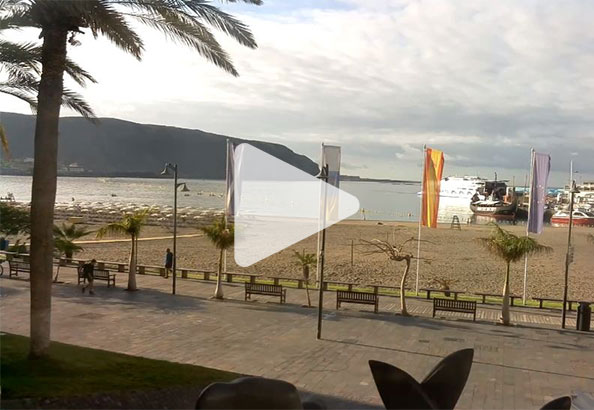 Väderkamera live Los Cristianos