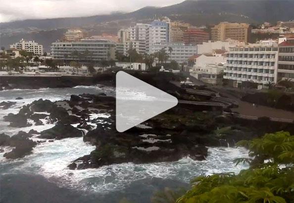 Väderkamera live Puerto de la Cruz