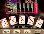 Continuous Video Poker action and over 200 games at Riverbelle casino