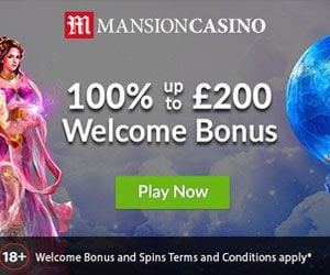 Play on Mansion Casino