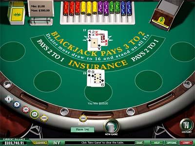 Casino Tropez Black Jack
