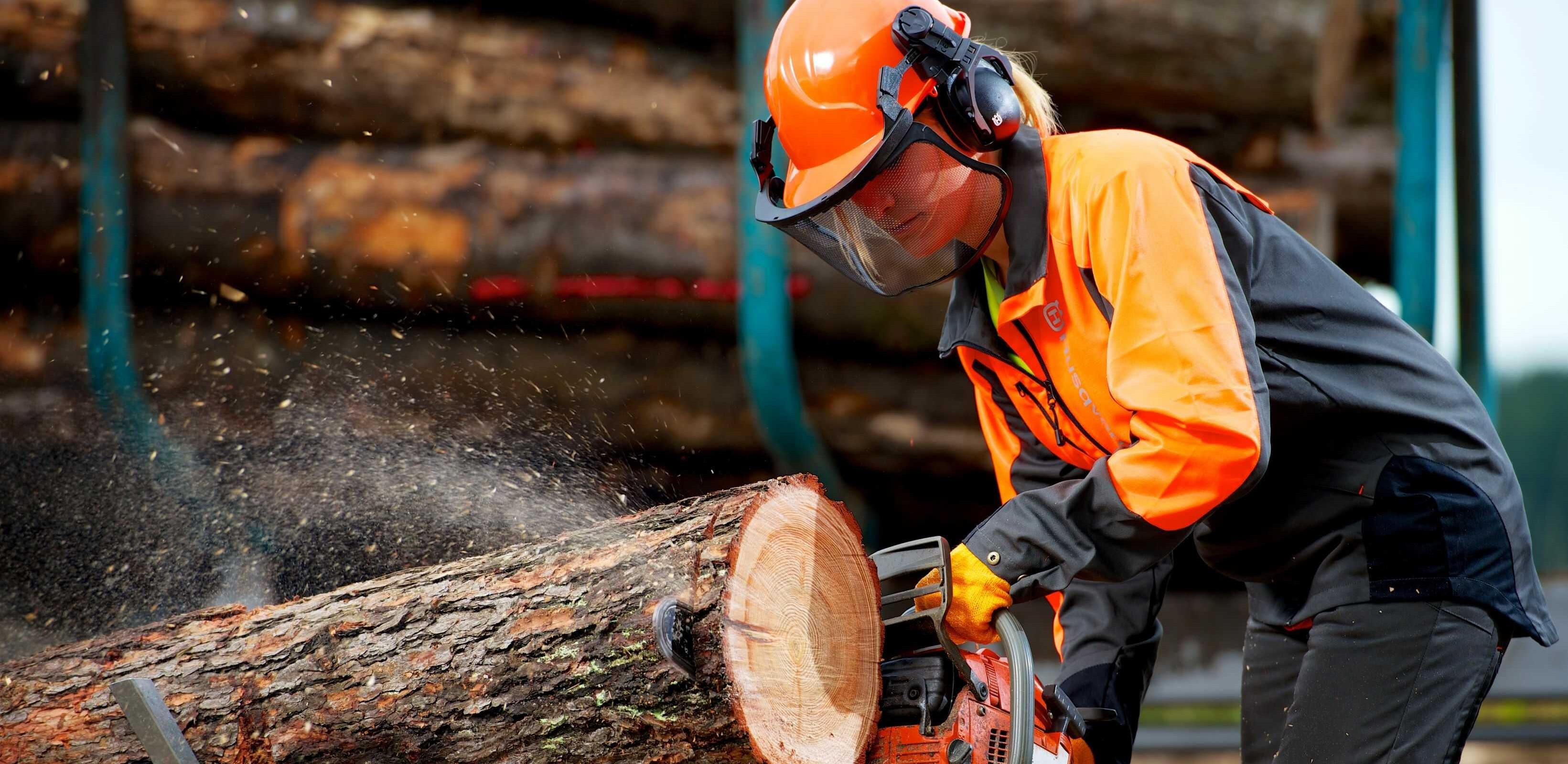 Vi är trädfällare i Norrort