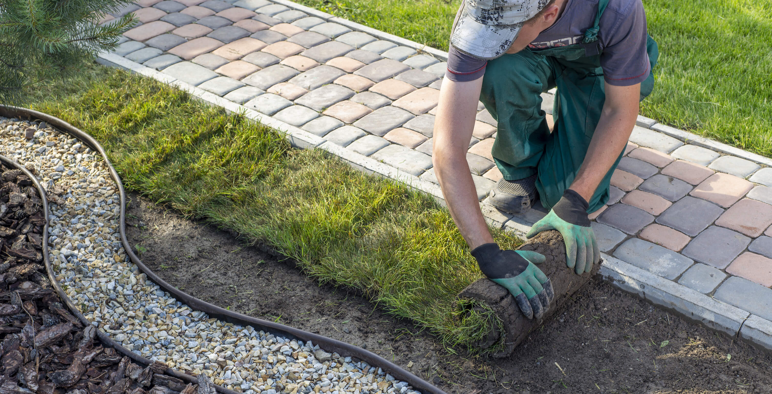 Vi arbetar med trädgårdsarbete i Helsingborg