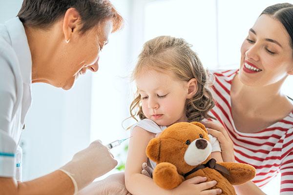 vaccinering av barn