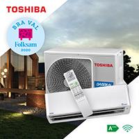 Vi säljer även denna modell av Toshiba värmepumpar i Dalarna