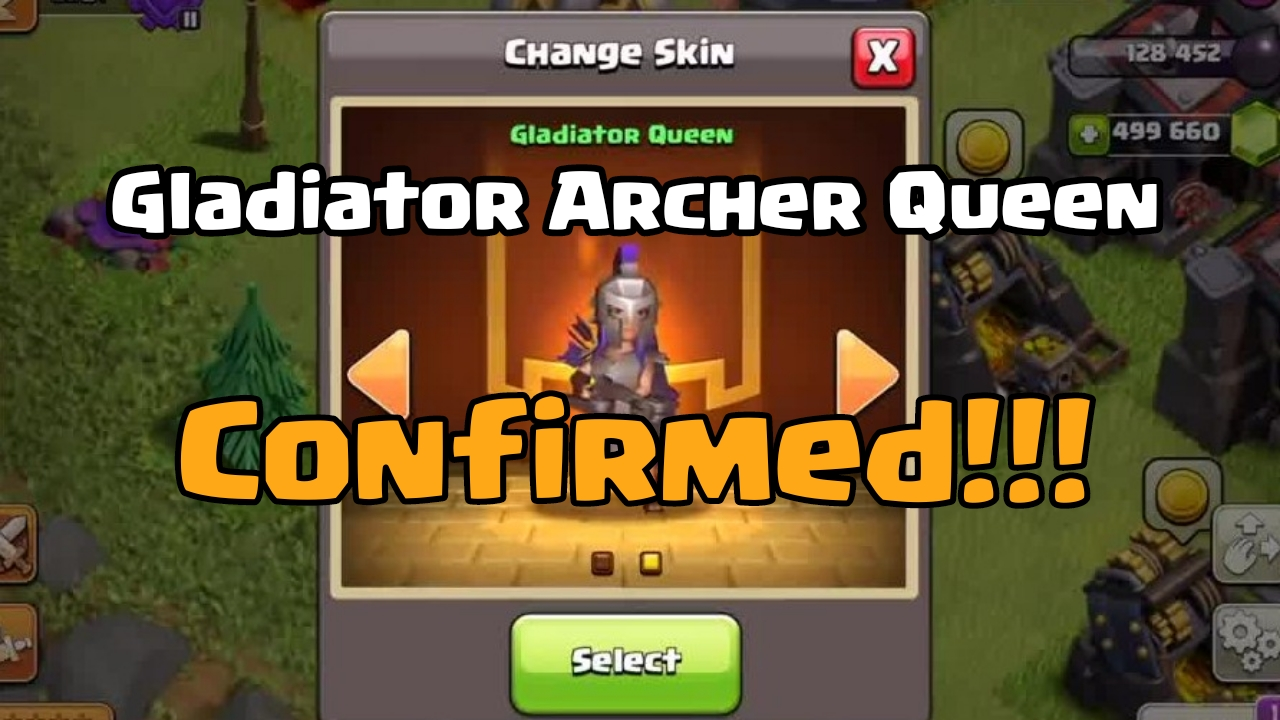 Gladiator Archer Queen update