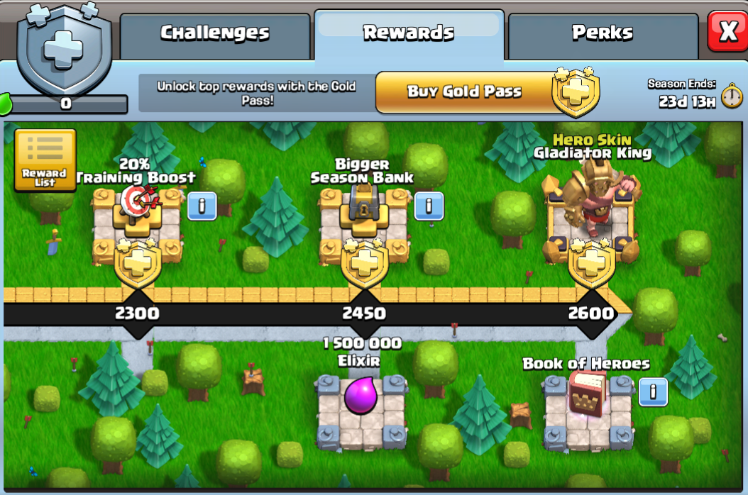 Season Games - Clash of Clans