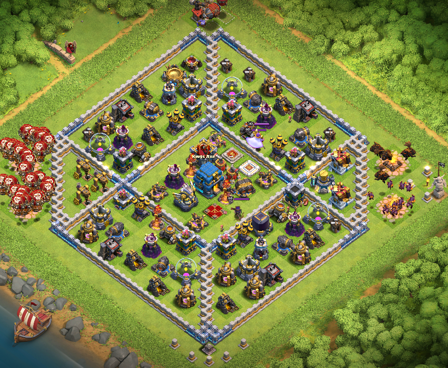 TH12 Trophy Pushing Base 2019