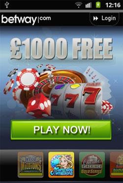 Betway Mobile Casinos
