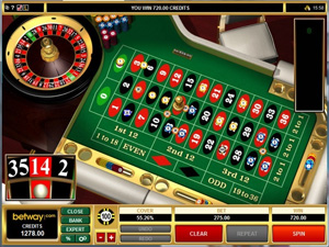 Online Roulette at Betway Casino