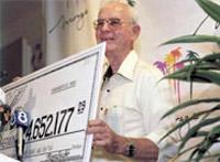 Elmer Sherwin $4.6 million win