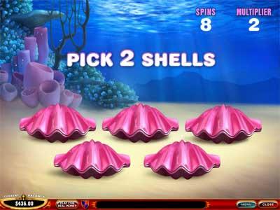 Great Blue Slot Bonus Game