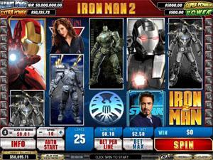 Playtech Iron Man 2 Slot