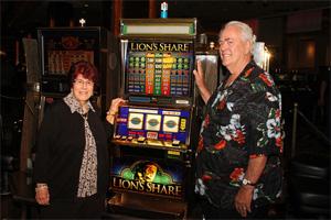 Las Vegas Lion's Share Jackpot Slot Winners