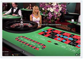 Microgaming's Live Dealer European Roulette
