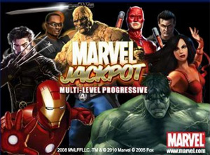 Marvel Jackpot slots