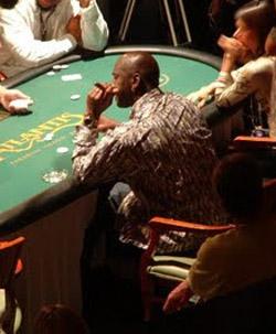 Michael Jordan gambling