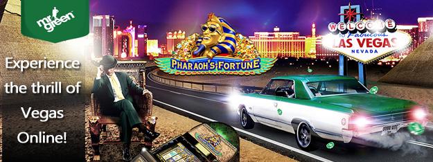 Vegas online at Mr Green Casino