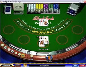 Playtech Blackjack at EuroGrand Casino