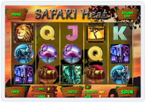 Safari Heat Online Slot