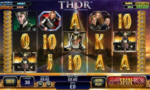 Thor Progressive Jackpot Slot