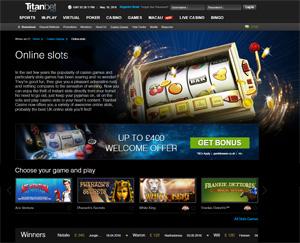 Titan Bet Slots